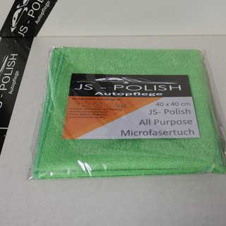 JS-Polish All Purpose Microfasertuch 40x40