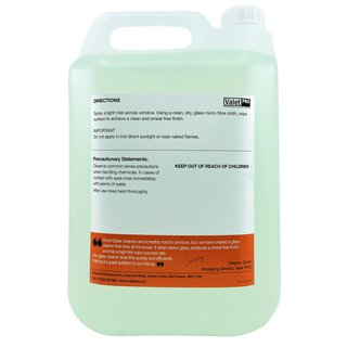 ValetPRO Glass Cleaner 5L