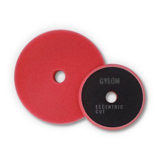 GYEON Q2M Eccentric Cutting Pads red 90mm 2 Stk