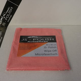 JS-Polish Wipe Off Microfasertuch 40x40